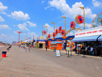 Coney Island i New York - Promenade