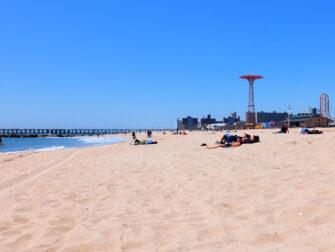 Coney Island i New York - Stranda