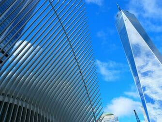 Lower Manhattan og Financial District i New York - One World Trade Center