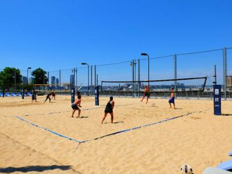 TriBeCa i New York - Strandvolleyball