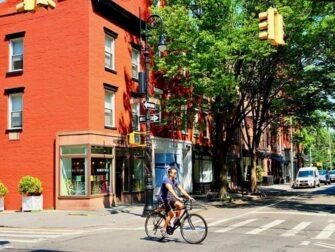 West Village New York - Perry St og Bleecker St