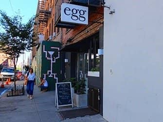 Williamsburg i Brooklyn - Egg