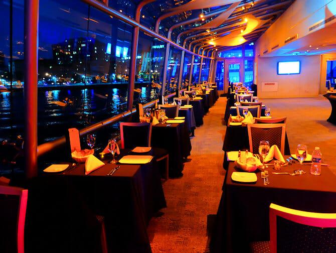 Cruise med middag i New York