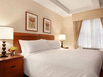 Edison Hotel i NYC - Seng