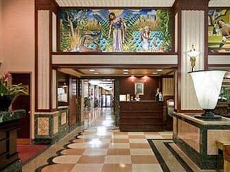 Edison Hotel i NYC - Resepsjon