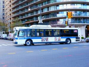 Buss i New York