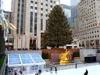 Gaa paa skoeyter i New York - Rockefeller Rink