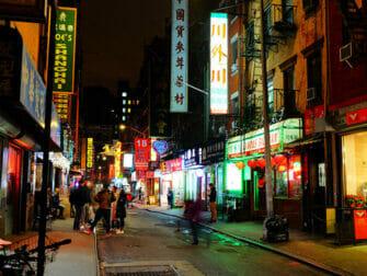 Chinatown i New York - Bygninger