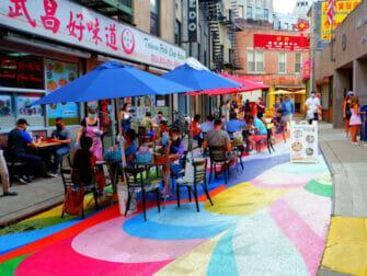 Chinatown i New York - Gate