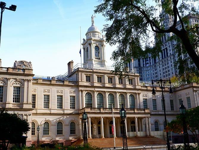 Civic Center i New York
