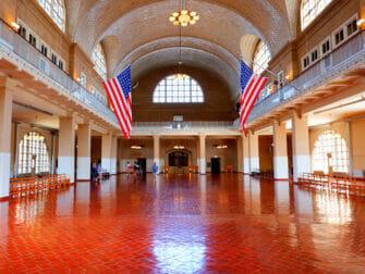 Statue of Liberty and Ellis Island Boat Tour Ellis Island Building