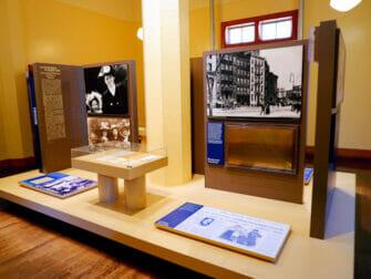 Båttur til Frihetsgudinnen og Ellis Island - Utstilling