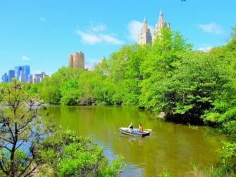 Upper East Side i New York - Central Park