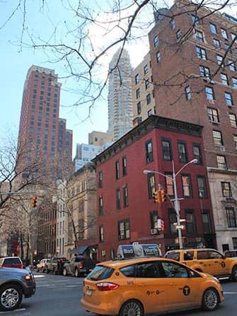 Upper East Side i New York - Lexington Ave og taxier