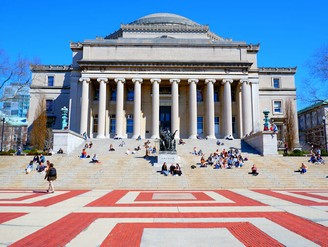 Upper West Side i New York - Columbia University