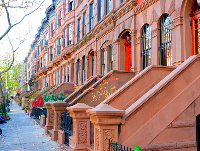 Upper West Side i New York - Solfylt ettermiddag
