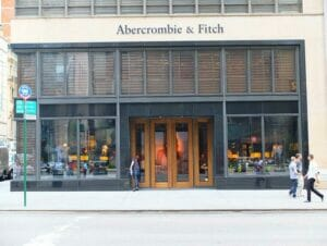Abercrombie & Fitch i New York