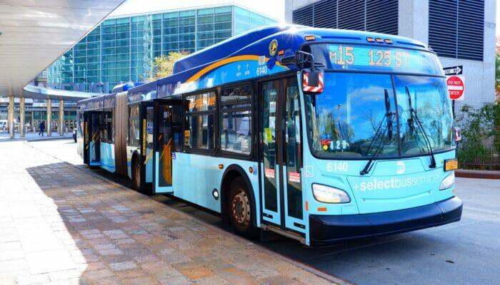 Buss i New York - Buss a la 9th Avenue