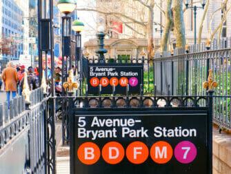 Subway i NYC - 50 Street Station