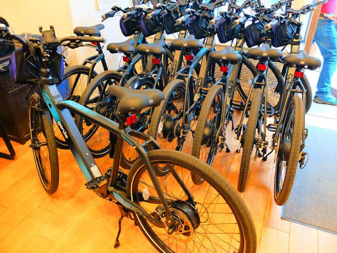 Nedsatt funksjonsevne i New York - Elektrisk sykkel