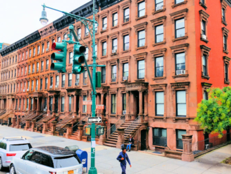 Harlem New York - sandsteinshus