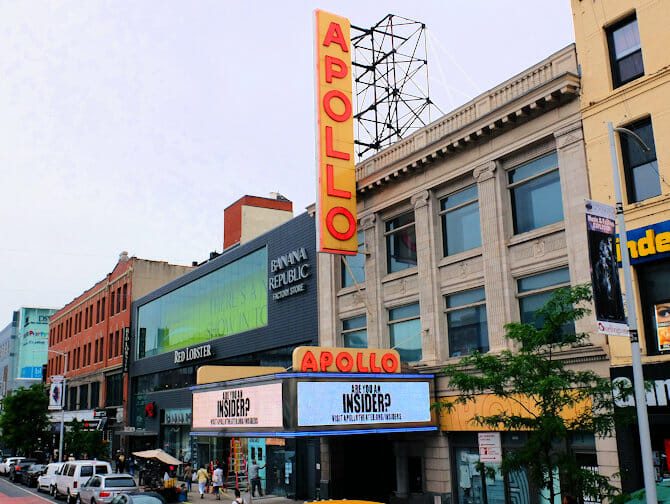 Hiphop-turer i New York - Apollo Theater