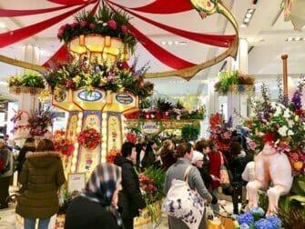 Macys i New York - Blomstershow