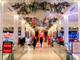 Macys i NYC - Juledekorasjoner