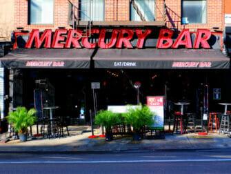 Utelivet i Midtown New York - Mercury Sportsbar