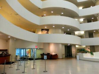 Guggenheim Museum i NYC - Taxi
