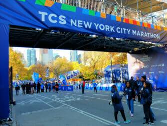 New York Marathon - Maallinjen