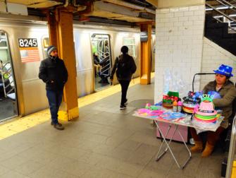 New York Subway - Subway Plattform
