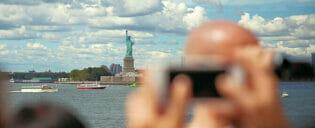 Ta bilder i New York