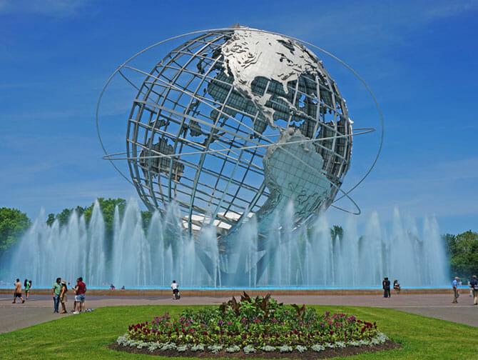 Queens i New York Corona Park