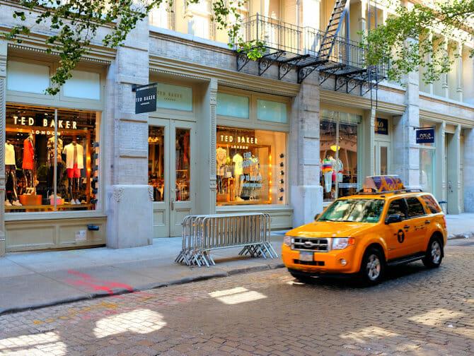 Shopping i SoHo - Broadway og Broome