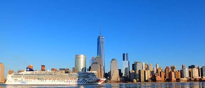 Transfer mellom flyplasser og båthavner i New York