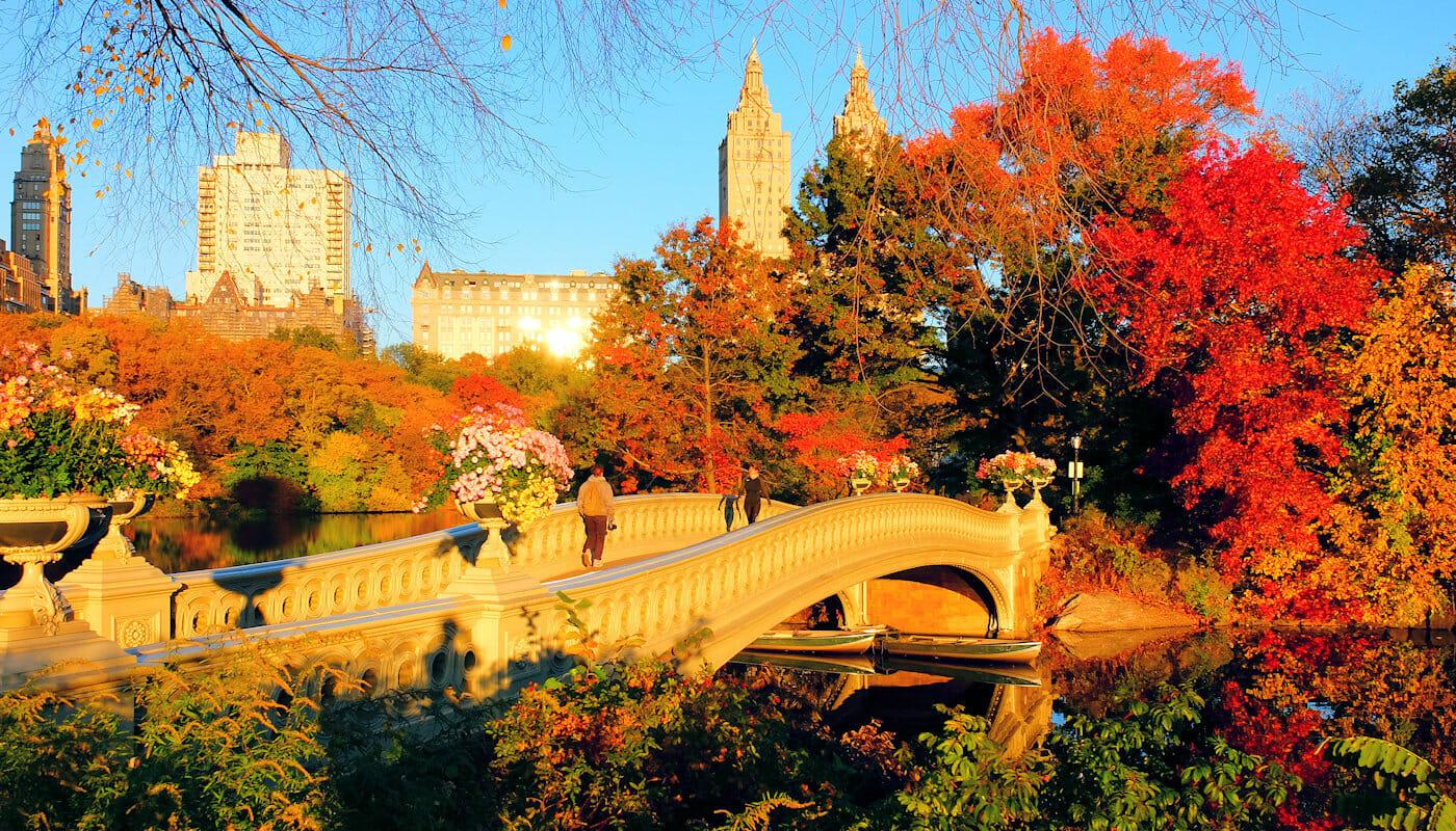 Været i New York - Høst