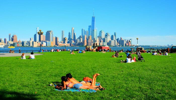 Været i New York - Sommer