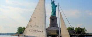 Helgeseiling med champagnebrunch i New York