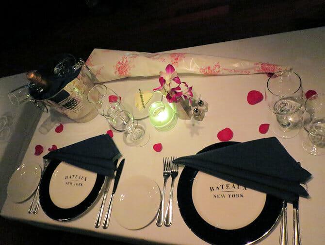 Valentines-cruise med middag i New York - Bord