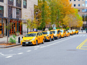 Taxi i New York - Saks