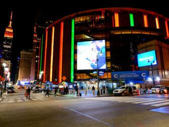 Madison Square Garden i New York - Utvendig