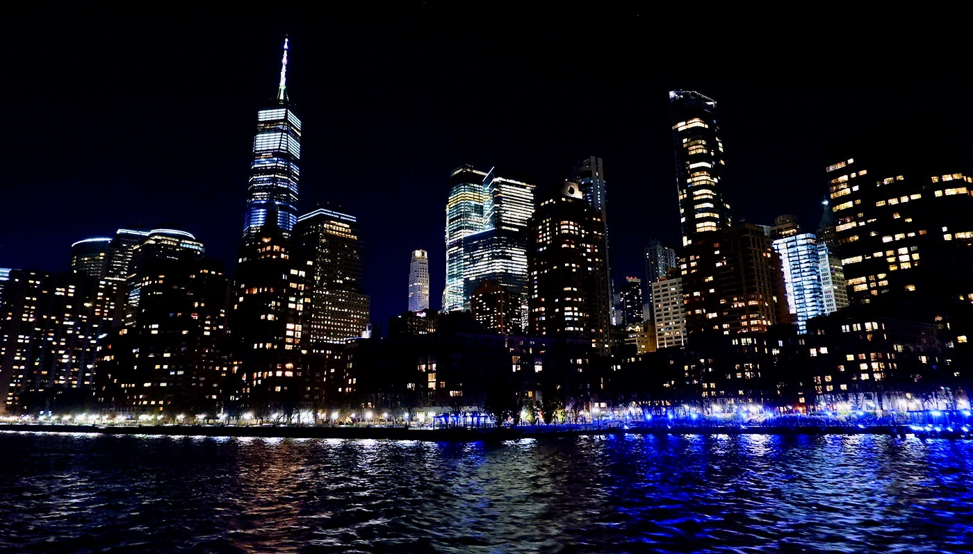 Thanksgiving middags-Cruise i New York - Utsikt
