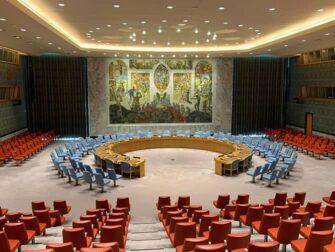 De forente nasjoner i New York - FNs sikkerhetsråd
