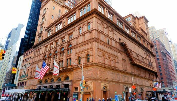 Carnegie Hall i New York - Konserthus