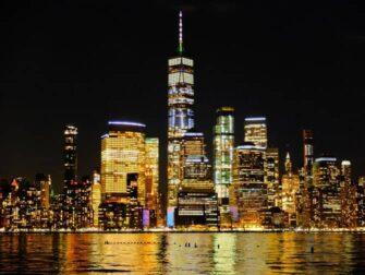 Freedom Tower : One World Trade Center - Om kvelden