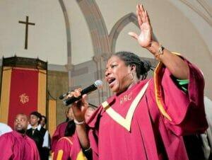 Guidet tur til gospel i New York