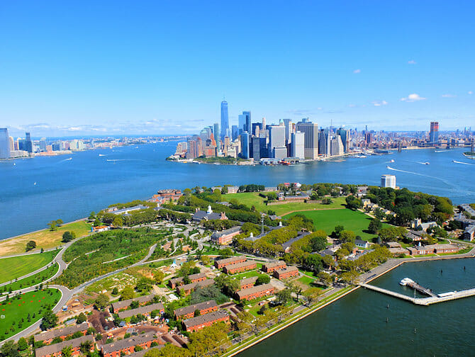 Governors Island i New York