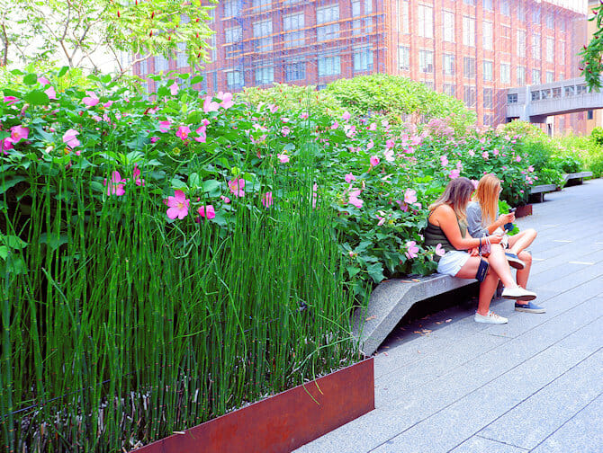 High Line Park i New York - Spasertur