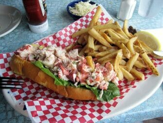 New York til Boston dagstur - Lobster Roll